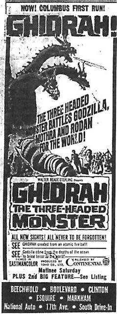 """""""Ghidrah, the Three-Headed Monster"""""""