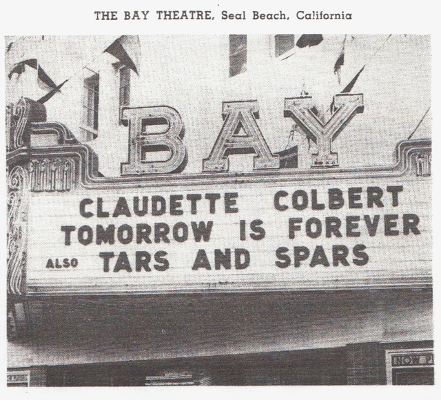 Bay Marquee in the 40s