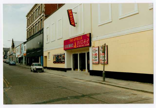 Apollo cinemas, Crewe