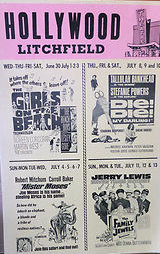 HOLLYWOOD Theatre, Litchfield, Minnesota: playbill.