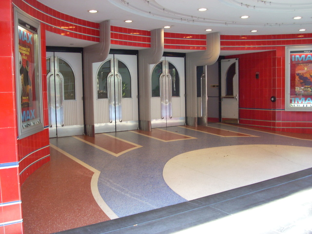 Esquire Theatre Entrance 2008