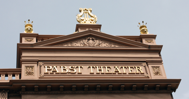 Pabst Theatre, Milwaukee, WI - exterior detail