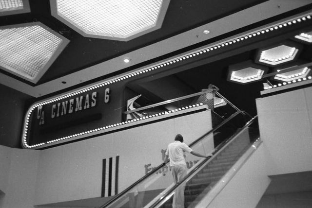 1975 UA Christown Mall - Escalator