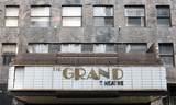 Grand Theatre, Milwaukee, WI - marquee