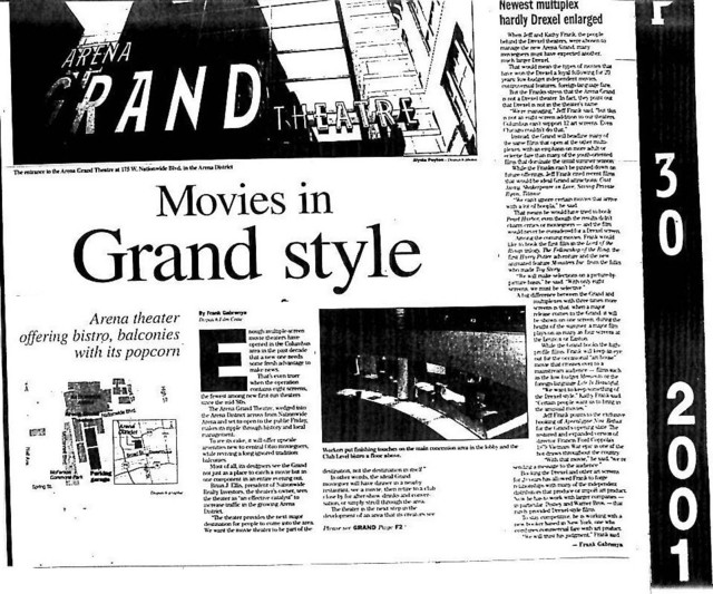 """Movies in Grand Style"""