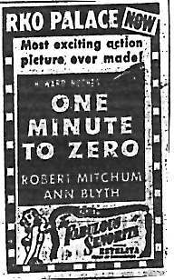 """One Minute to Zero"""