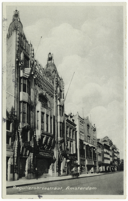 Tuschinski Theater, Postcard, ca. 1933