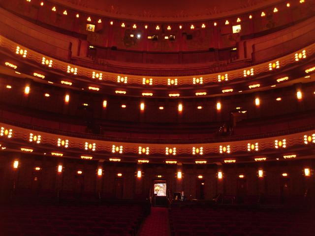 Tuschinksi Theater, main auditorium (Zaal 1), seating