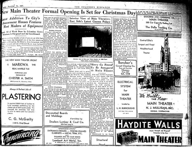 """New Main Theater Formal Opening..."""