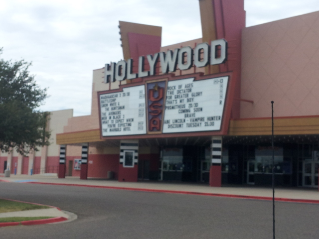 Renovate - Review of Cinemark Hollywood USA, McAllen, TX ...