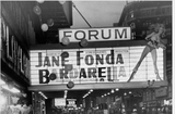 JANE FONDA as BARBARELLA at the FORUM theatre 1968