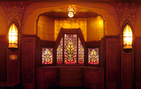 Tuschinksi Theater, stained glass