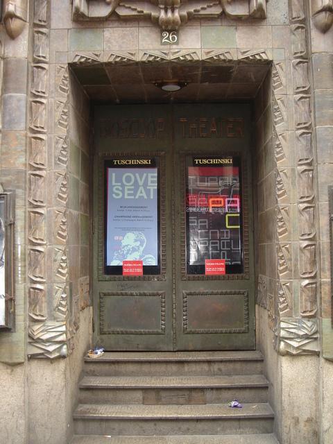 Tuschinksi Theater, exterior, exit