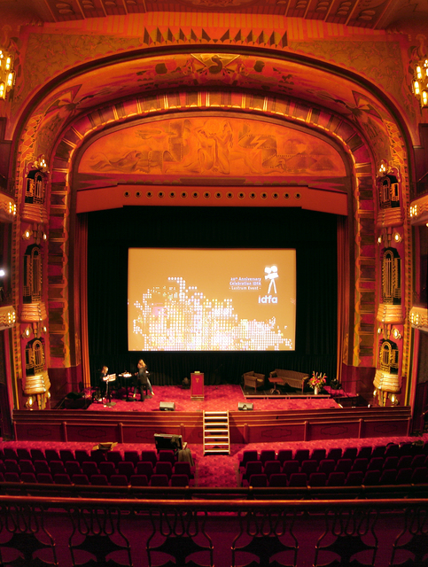 Tuschinksi Theater, main auditorium (Zaal 1), Proscenium Arch