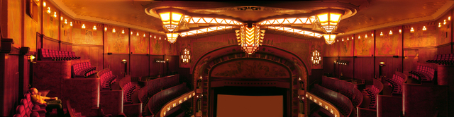 Tuschinksi Theater, main auditorium (Zaal 1), top balconies