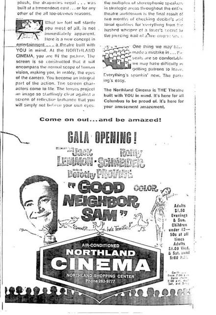 """Gala Opening !"""