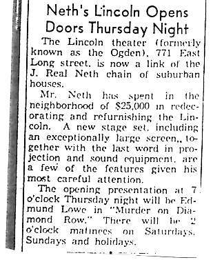 """""""Neth's Lincoln Opens"""""""