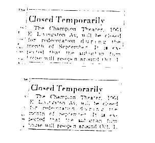 """Closed Temporarily"""