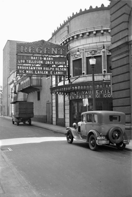 Regent Theatre, Paterson, NJ – 1929