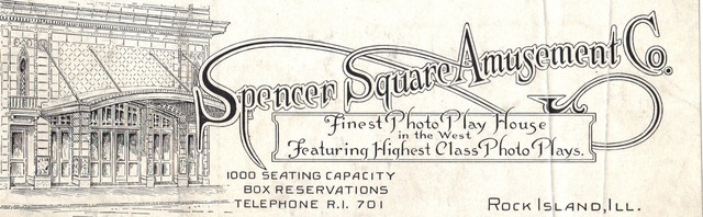Ad for Spencer Square Amusements