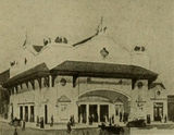Drawing of Cumberland Theatre, 1914