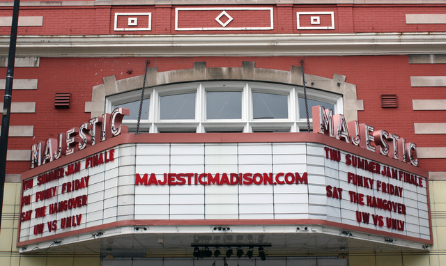 Majestic Theatre, Madison, WI - marquee
