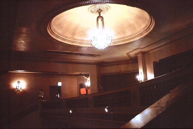 Dress Circle Foyer.