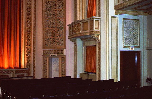 Right Hand Side of Outer Proscenium.