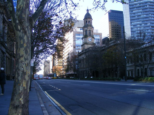 Adelaide Town Hall.