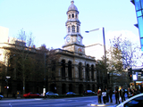 Adelaide Town Hall, Front elevation.