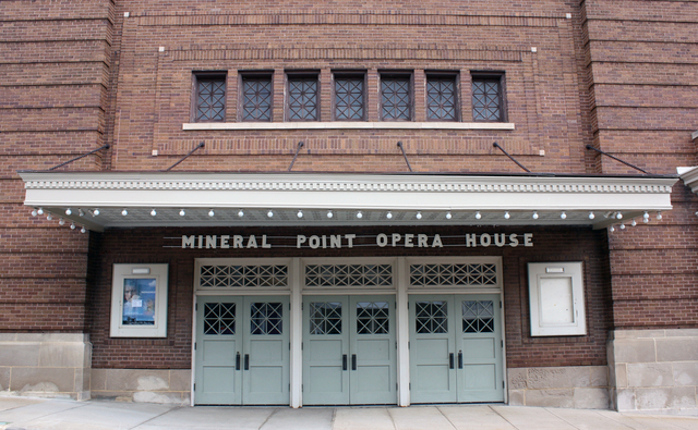 Mineral Point Opera House, Mineral Point, WI