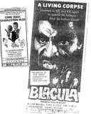 """Blacula""/""Come Back Charleston Blue"""