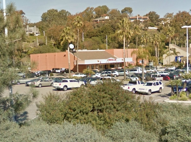 Flower Hill Theater in Del Mar (From Freeway OnRamp)