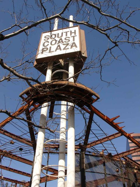 South Coast Plaza Theatre Demolition