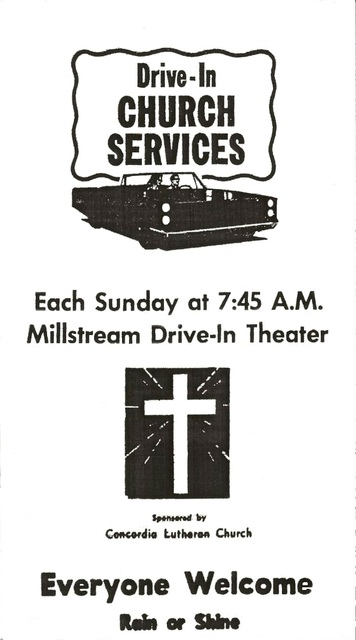 Millstream Drive-In