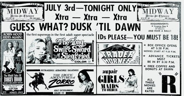 Midway Drive In In Mansfield Oh Cinema Treasures