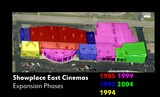Expansion phases of the Showplace Cinema East