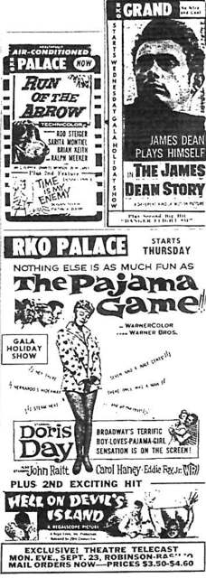 """the Pajama Game"" etc."