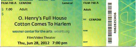 """O. Henry's Full House""/""Cotton Comes to Harlem"""