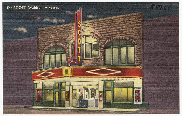 The Scott Theatre, Waldron AR