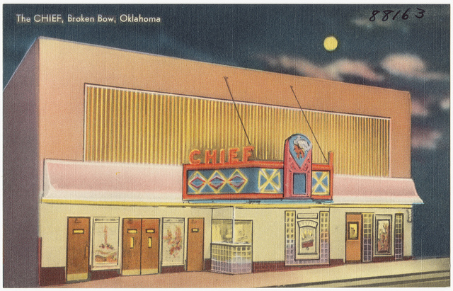 Chief Theatre, Broken Bow OK
