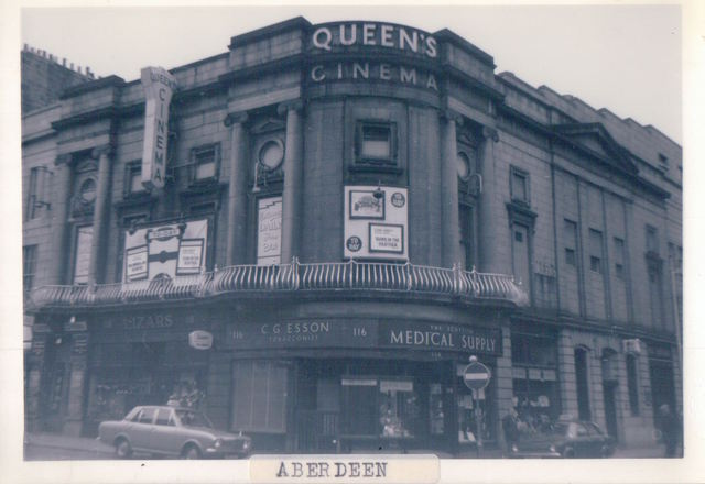 Queen's Cinema, Union Street, Aberdeen