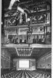 Crystla Theater exterior and interior circa 1910