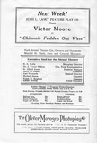 Page from 1915 Program Book Showing Ownership &amp; Management