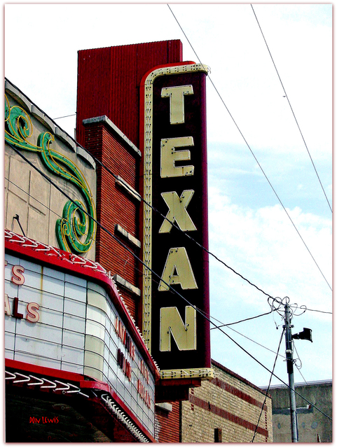 Texan Theater© GreenvilleTX ...Don Lewis