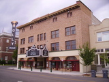 <p>Photo of Holly Theatre – Medford, Oregon after Hammond Construction removed later face and refurbished the building facade to it's early year's appearance; as part of the refurbishing to reopen the Holly for live-Stage & Films.</p>