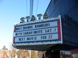 State Theatre Marquee, Deposit, NY