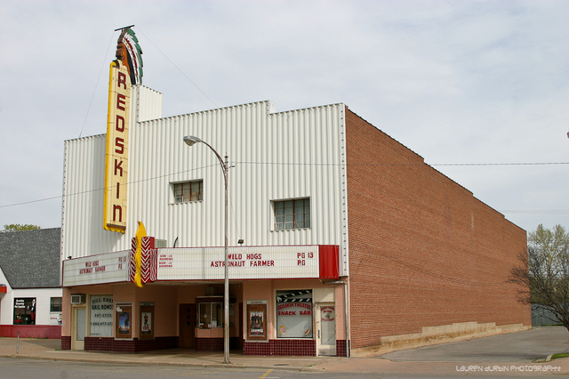 Anadarko (OK) United States  city photos gallery : Redskin Theatre in Anadarko, OK Cinema Treasures