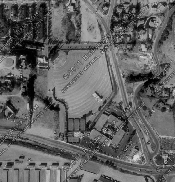 Aerial Photo 1980 Del Mar Drive-In