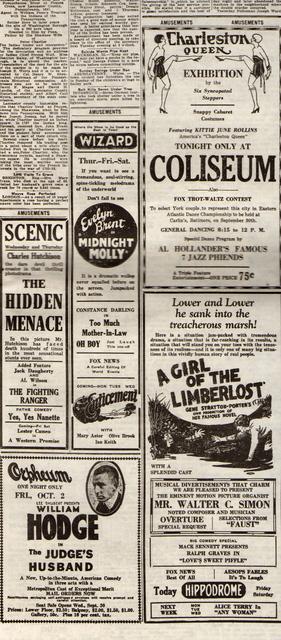 Newspaper Ad 1925
